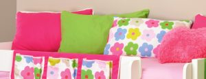 Stompa Play Scatter Cushions - Pink, Lime & Flowers