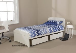 Rainbow Bed 3 - White