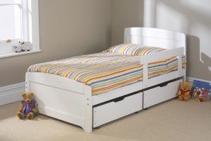 Rainbow Bed 4 - White