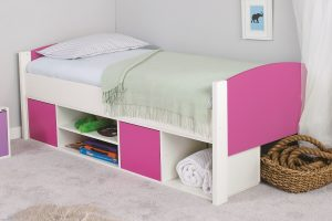 Stompa Uno-S Cabin Bed - Pink