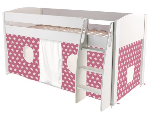 Uno-S Midsleeper with Pink Stars Tent