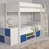Stompa Uno-S Storage Bunk - White
