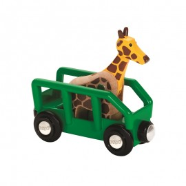 BRI-33724 - Safari Wagon and Giraffe