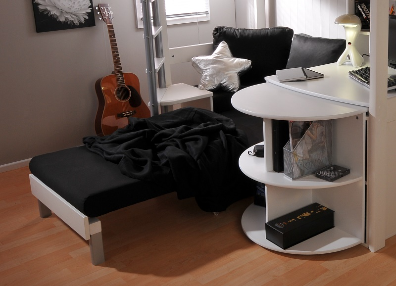 Chairbed 3 Black