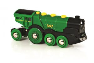 BRI-33593 Big Green Action Locomotive