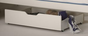 Scallywag Underbed Drawer - White