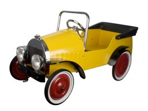 Yellow Pedal Car