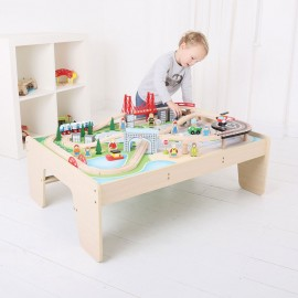 BJT045 - BigJigs City Train Set and Table