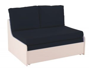 Stompa Uno-S Sofa Bed - Blue Cushions