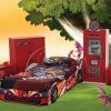 Formula Red Car Bed and Furniture
