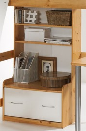 Scally Bookcase deep drawer
