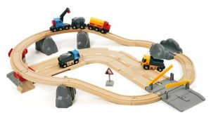 BRIO 33210 - Rail and Road Loading Set