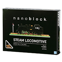 Nanoblock Steam Locomotive