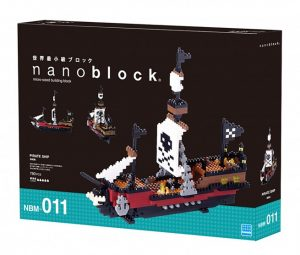 Nanoblock Pirate Ship