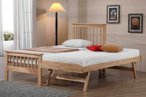 Pentre Guest bed Oak Finish