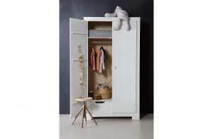 Nikki Wardrobe - Open - White