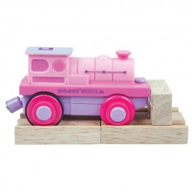 BJT305 Bigjigs Pink Battery Operated Engine