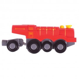 BJT307 big red steam battery operated engine