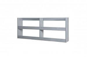 Dennis Wall Rack - Concrete Grey