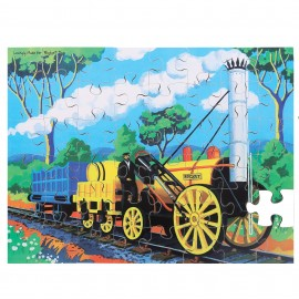 BJ045 Bigjigs Rocket 48 piece wooden Puzzle