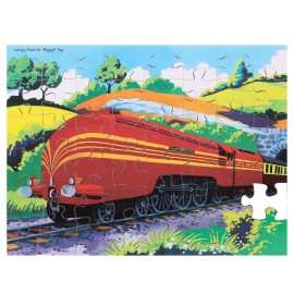BJ047 Duchess of Hamilton 48 piece wooden puzzle