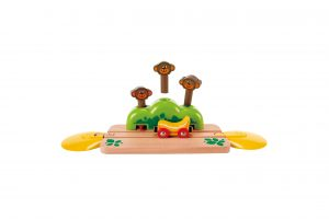 E3809 Hape Monkey Pop-Up Track