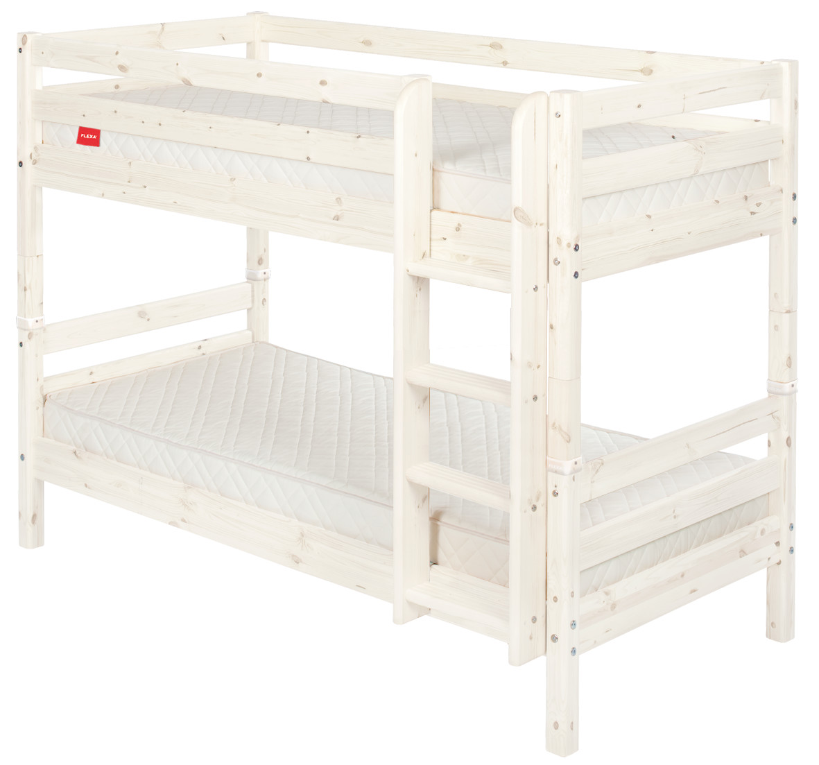 Flexa Classic Bunk Bed Rainbow Wood