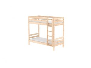Flexa Classic Tall Bunk Bed - Natural Lacquer