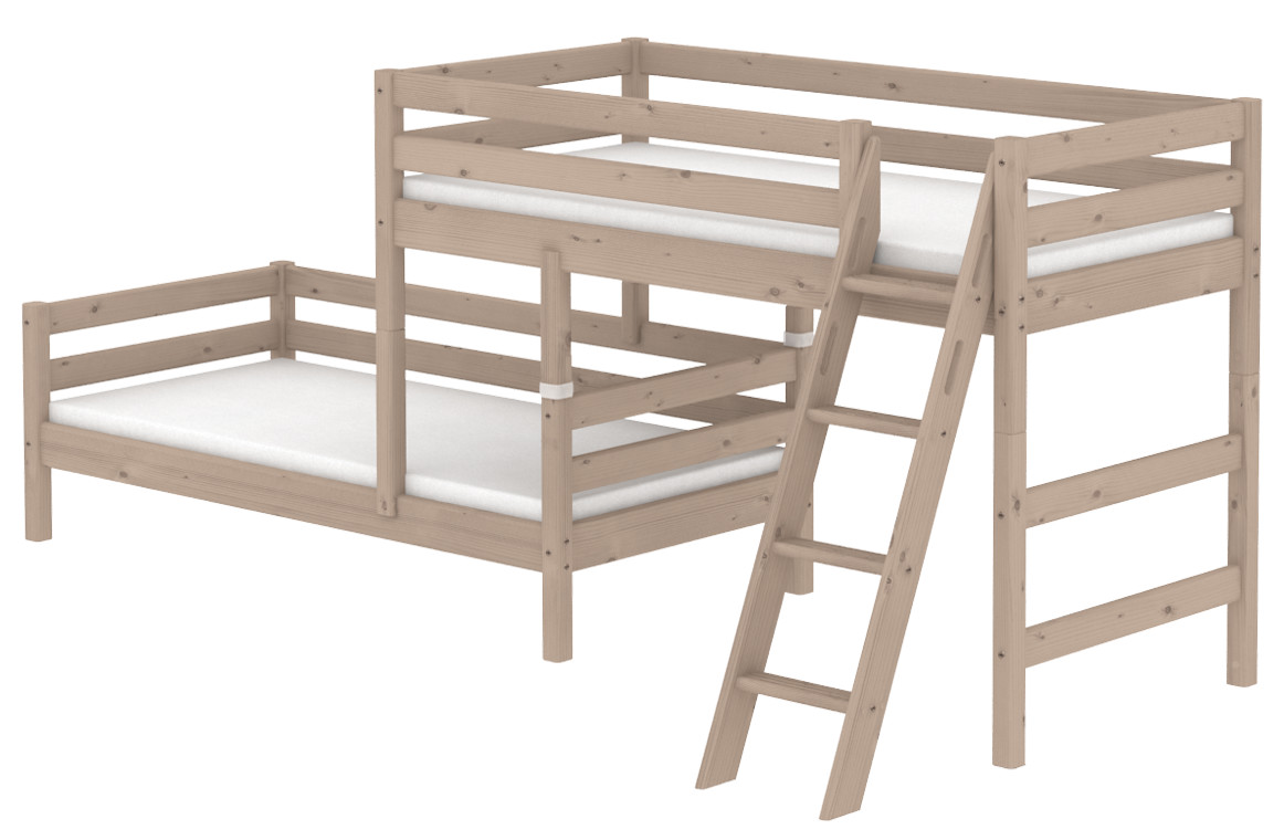 Flexa Classic Staggered Bunk - Terra