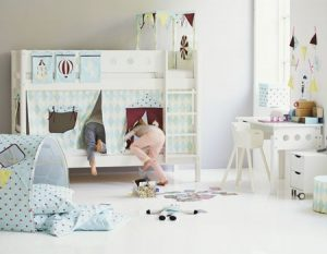 Flexa White Bunk - Circus