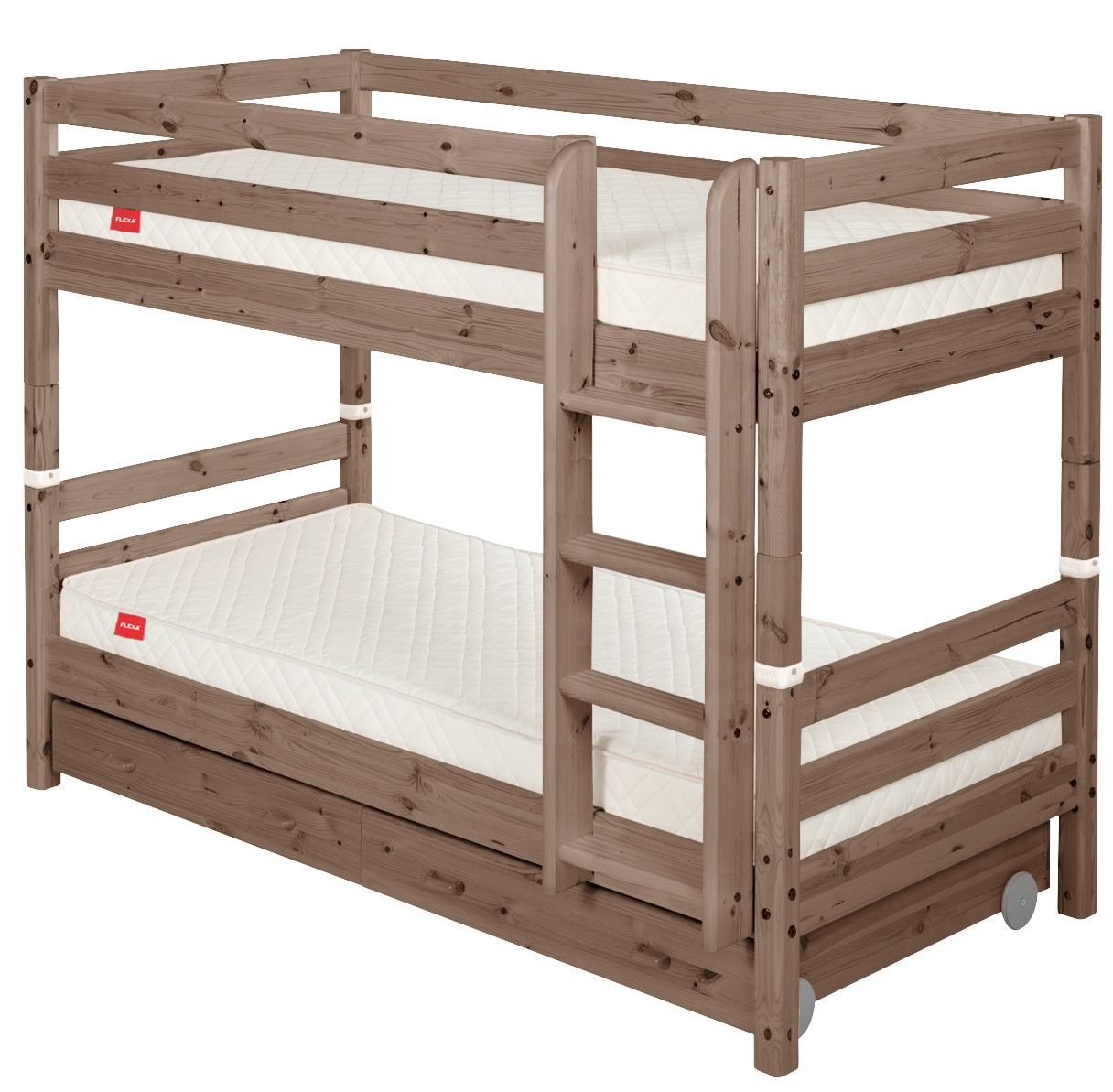 Flexa Classic Bunk bed with Drawers - Terra