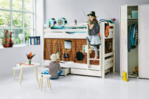 Flexa Classic Bunk bed with Drawers - Pirate Theme