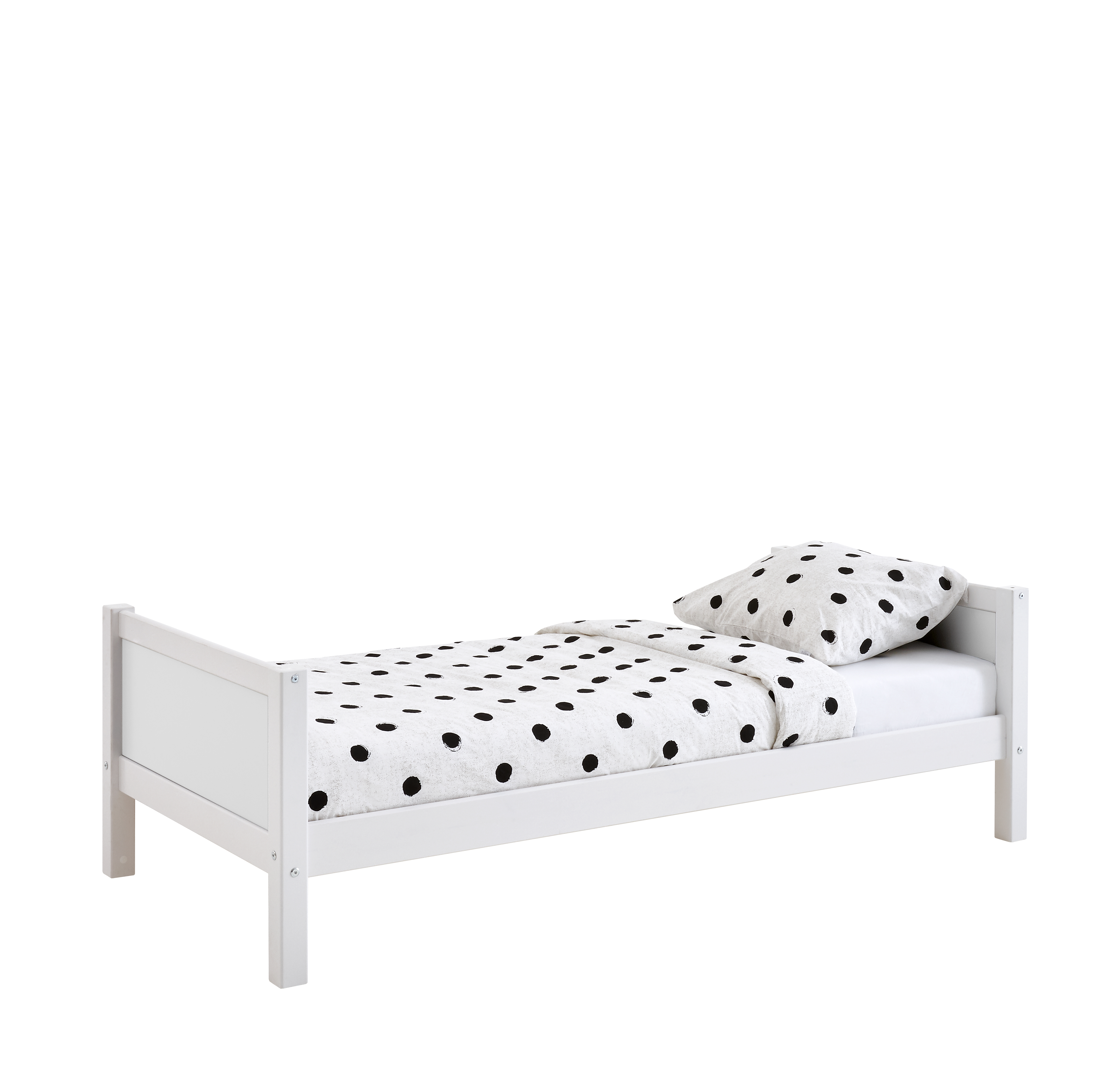 Single bed White