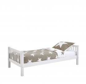 Single Bed Slatted