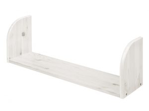 Flexa Classic Wide Bookshelf - Whitewash