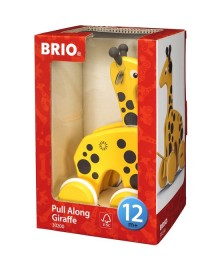 pull along giraffe boxed