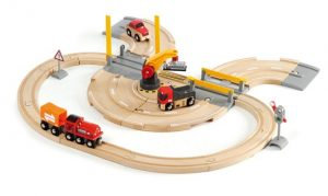 33208 rail and road crane set
