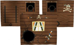 Flexa Pirate Play Curtain