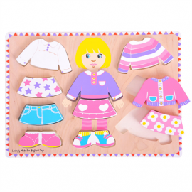 BB057 dressing girls puzzle