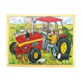 BJ744 tractor puzzle