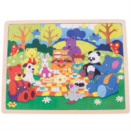 BJ480 picnic in the park 35piece jigsaw